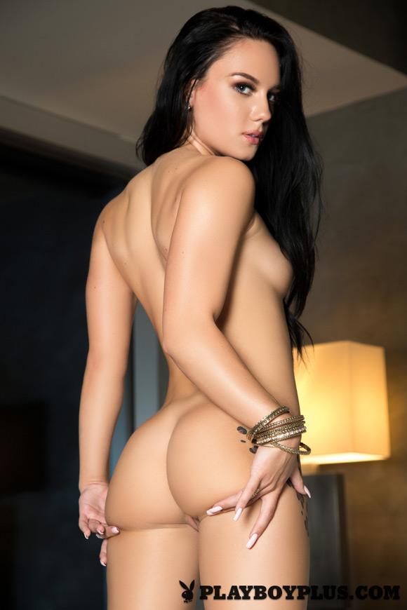 Leopard lady nude naked photo